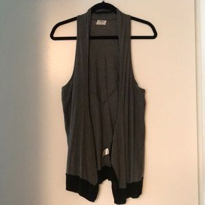 Madewell Wallace Grey / Black Vest